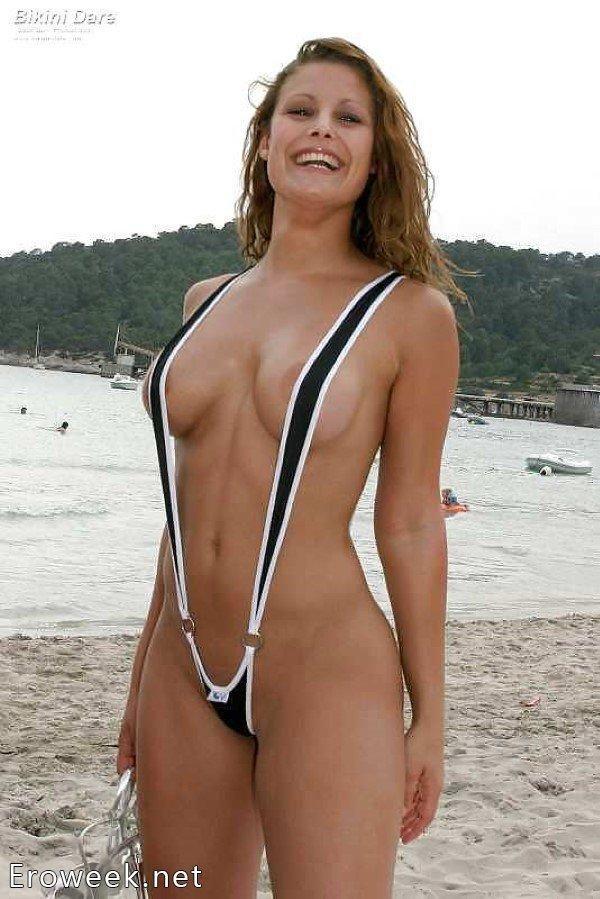 голые телки в экстрим бикини бикини