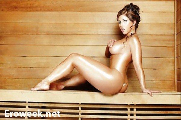 Полностью голые девушки в бане (22 фото)