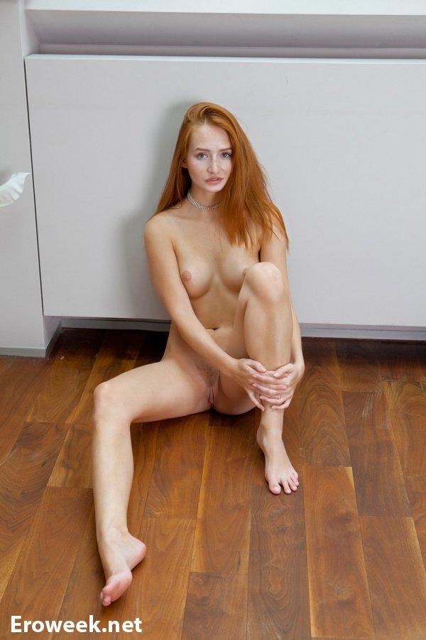 Denisa Heaven с красивыми рыжими волосами (22 фото)
