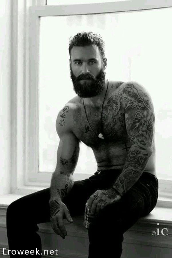 Красивые мужчины с бородой (30 фото)