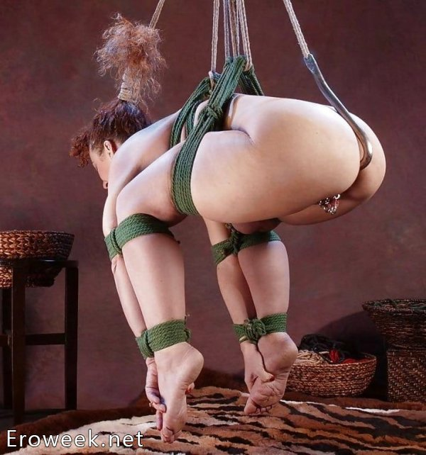Жестко связанные веревками (30 фото)