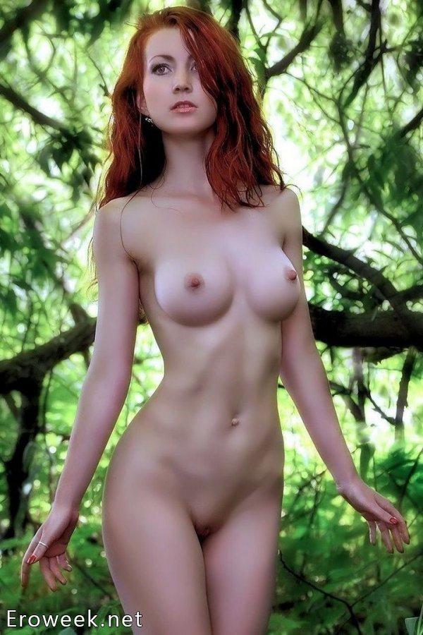 Самые красивые рыжеволосые модели (20 фото)